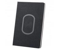 Kevant vezeték nélküli töltős jegyeztfüzet, fekete