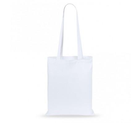 Turkal műanyag bevásárlótáska, fehér