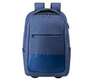 Haltrix gurulós hátizsák, kék
