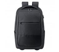 Haltrix gurulós hátizsák, fekete