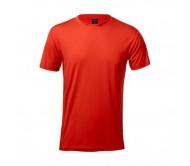 Tecnic Layom felnőtt póló, piros