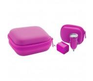 Canox USB töltő szett, pink
