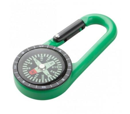 Clark karabiner, zöld