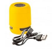 Braiss bluetooth hangszóró, sárga