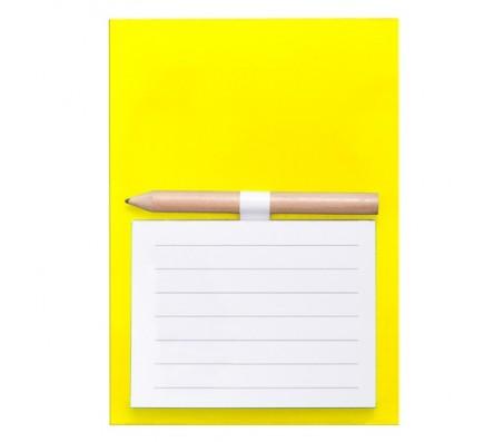 Yakari mágneses jegyzetlap, sárga