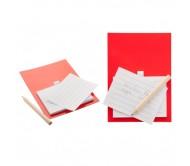 Yakari mágneses jegyzetlap, piros