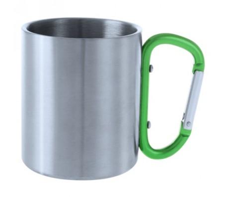 Bastic metál bögre, zöld