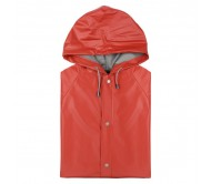 Hinbow esőkabát, piros-M