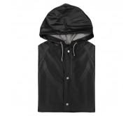 Hinbow esőkabát, fekete-XL
