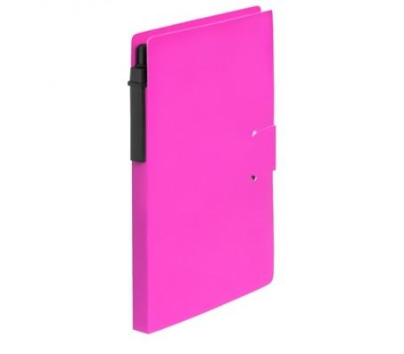 Prent jegyzetfüzet, pink
