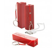 Youter USB power bank, piros
