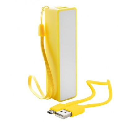 Keox USB power bank, sárga