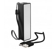 Keox USB power bank, fekete