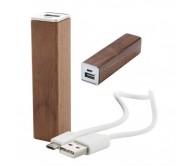Roblex USB power bank, barna