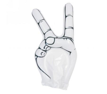Hogan felfújható kéz, fehér