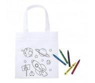 Mosby színezhető bevásárló táska