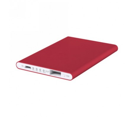 Telstan power bank , piros