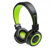 Tresor fejhallgató, zöld