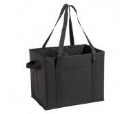 Nardelly csomagtartó táska, fekete