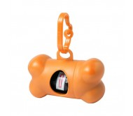 Rucin szemeteszsákadagoló kutyáknak, narancssárga