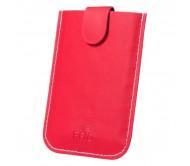 Serbin bankkártyatartó, piros