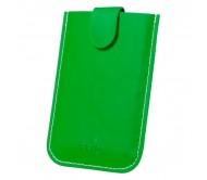 Serbin bankkártyatartó, zöld