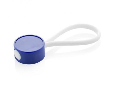 CreaKey egyedi kulcstartó- fejrész, kék