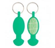 Anycart kulcstartós bevásárlókocsi érme, zöld