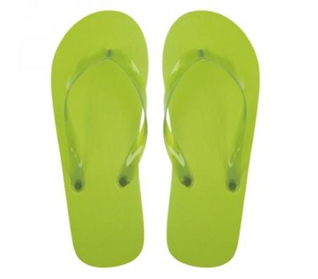 Varadero strandpapucs, lime zöld