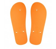 CreaSlip egyedi strandpapucs - talp, narancssárga