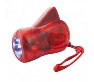 H Power dinamós elemlámpa, piros