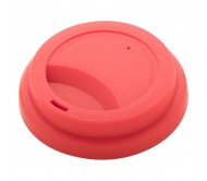 CreaCup egyediesíthető thermo bögre, fedő, piros-B