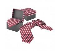 Vivonne nyakkendő díszdobozban, bordó