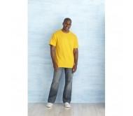 Heavy Cotton póló, felnőtt méretben, sárga