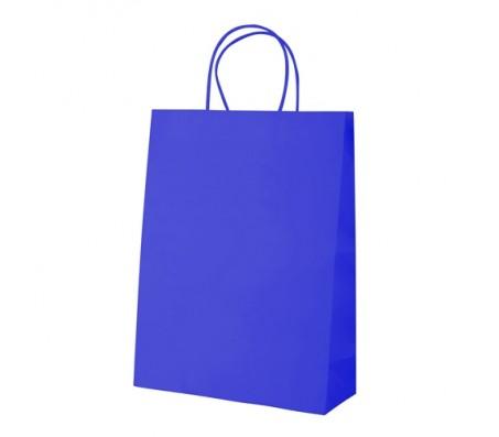 Store papírtáska, kék