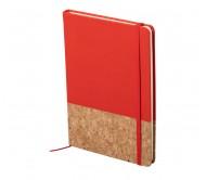 Bluster jegyzetfüzet, piros