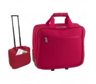 Cubic gurulós táska, piros