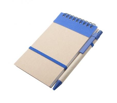 Ecocard jegyzetfüzet, kék