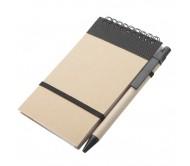 Ecocard jegyzetfüzet, fekete