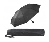 Mint esernyő, fekete