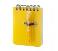 Duxo jegyzetfüzet, sárga