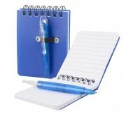 Duxo jegyzetfüzet, kék