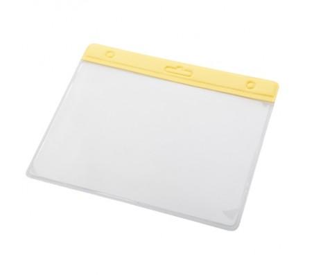 Alter névjegykártyatartó tok, sárga
