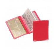 Mitux bankkártya tartó, piros