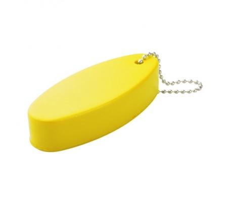 Islan antistressz kulcstartó, sárga