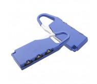 Zanex bőrönd zár, kék