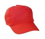 Sport baseball sapka, piros