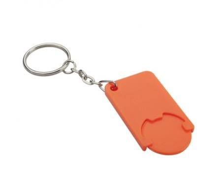 Beka érmés kulcstartó, narancssárga