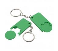 Beka érmés kulcstartó, zöld