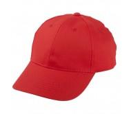 Konlun baseball sapka, piros